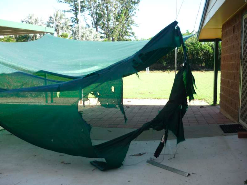 Shade Sail Maintenance